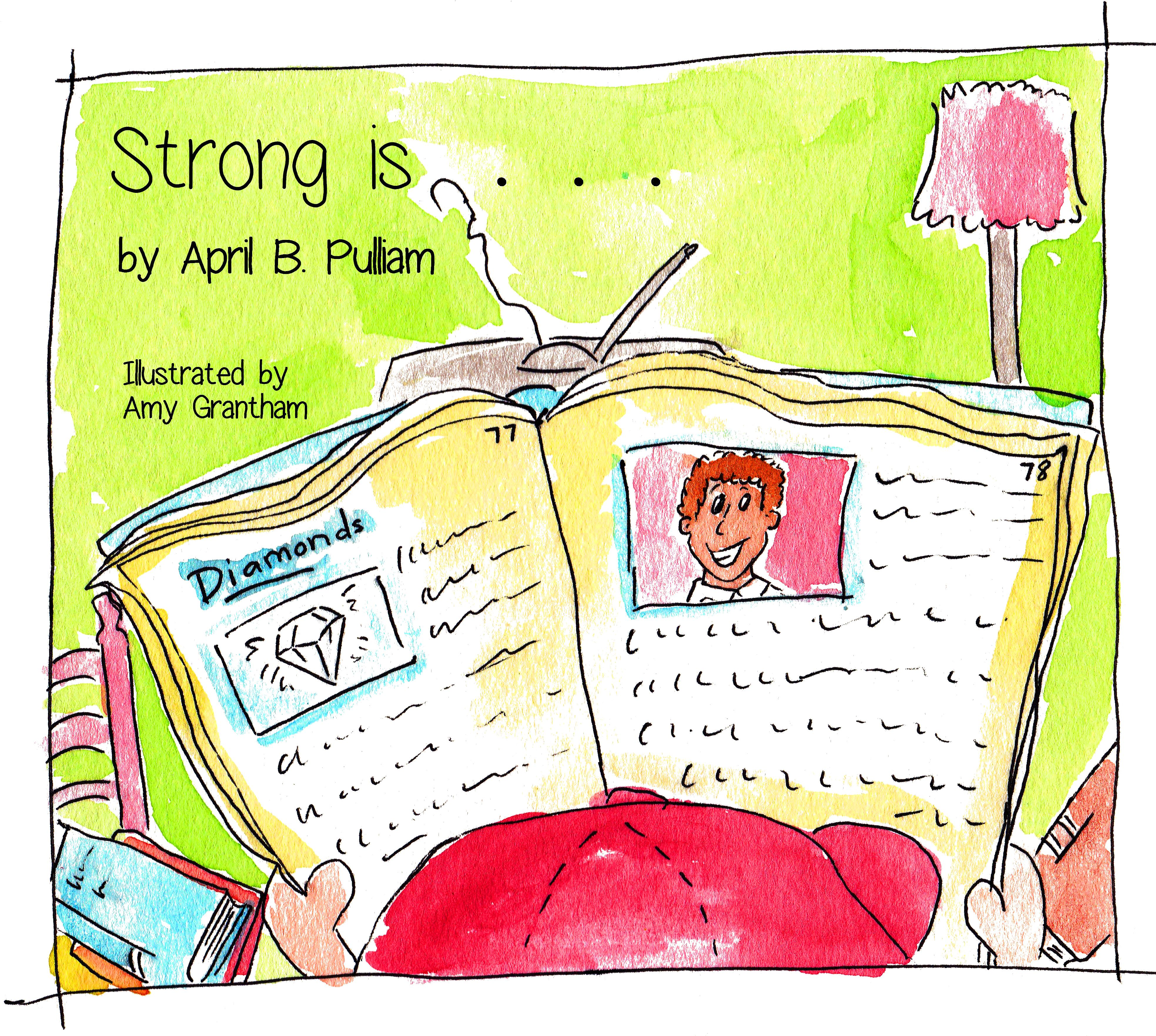 a children's book titled: strong is