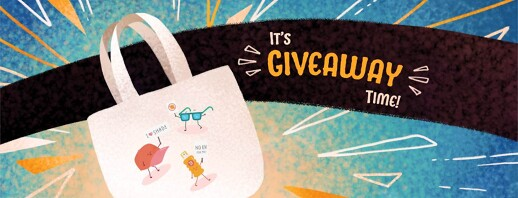 Enter to Win: Awareness Month 2021 Tote Bag Giveaway image