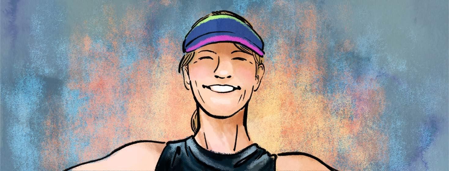 Portrait of Linda Curtis.
