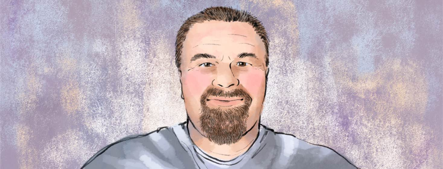 Portrait of Mike Hyder.